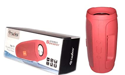iCare Gifts TX-77 Wireless Bluetooth Speaker, Outdoor Portable Stereo Speaker with HD Audio