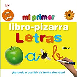 Amazon.com: Mi primer libro-pizarra Letras / My first Alphabet board ...
