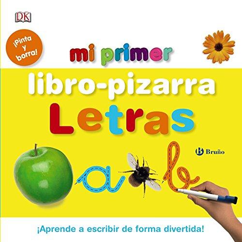 Mi primer libro-pizarra. Letras (Castellano - A Partir De 3 Años - Manipulativos (Libros Para Tocar, Jugar Y Pintar), Pop-Ups - Pizarras Mágicas)