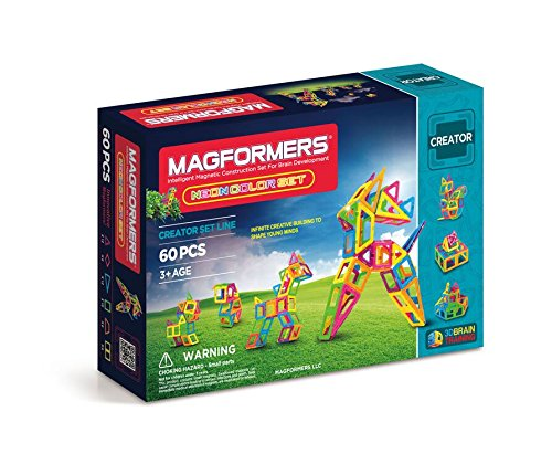 Magformers 60 pieces Magnetic Educational Construction