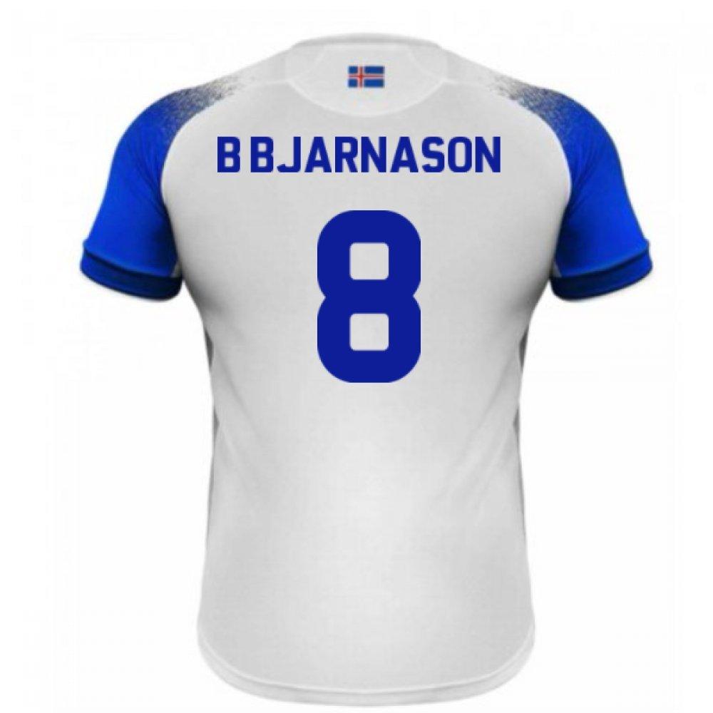 都内で 2018-2019 Iceland Shirt Away Errea Football Small Shirt (B Bjarnason 8) Small B07DK4XNPR Small Adults|White White Small Adults, ペットのセレクトショップるりあん:d48f2460 --- senas.4x4.lt