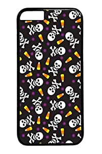 iphone 6 plus Cases & Covers -Candy and Crossbones1 PC case Cover for iphone 6 plus 5.5 inch Black