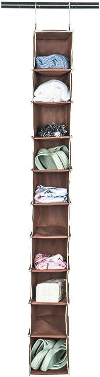 8 secciones Organizador de Zapatos Estantes colgantes para zapatos