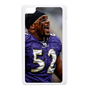 Baltimore Ravens iPod Touch 4 Case White persent zhm004_8587558