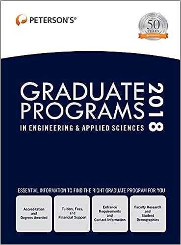 Graduate Programs in Engineering & Applied Sciences 2018
