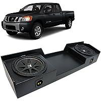 04-15 Nissan Titan King or Crew Truck Kicker Comp C12 Dual 12 Rhino Coated Sub Box - Final 2 Ohm