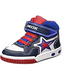 Boys Jr Gregg a Hi-Top Trainers, Blue