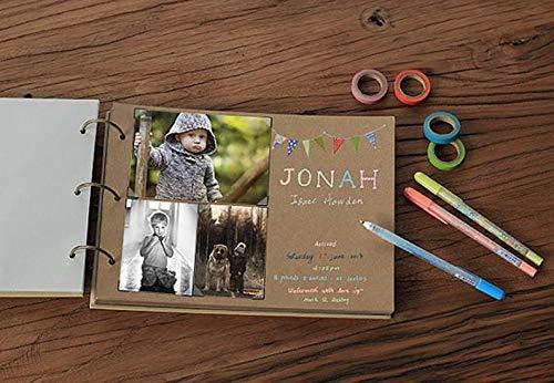 JOLIN DIY Kraft Paper Wedding Album Scrapbook Album Photo Album by JOLIN (Image #2)