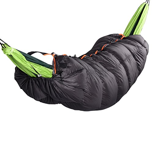 MagiDeal Outdoor Camping Winter Down Under Quilt Sleeping Bag For Hammock Backpacking by MagiDeal (Image #10)
