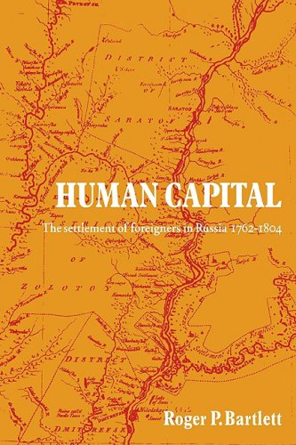Human Capital: The Settlement of Foreigners in Russia 1762-1804