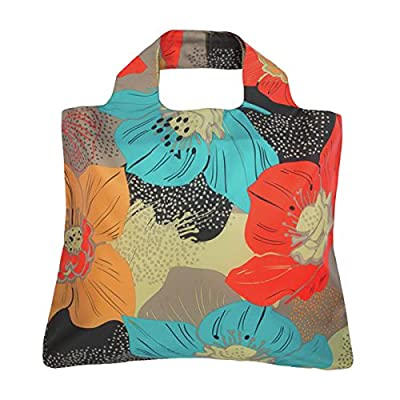 Envirosax Bloom and Mai Tai Reusable Shopping Bags (Set of 3), Escape