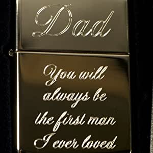 Lighter - Golden Dad You Will Always Be the First Man I Ever Loved - Star
