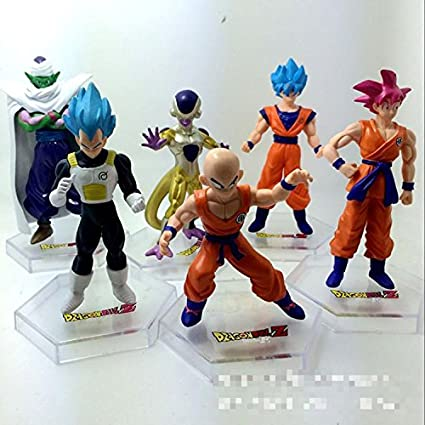 Amazon.com: 6pcs Frieza Vegeta Kakarotto Dragon Ball Anime ...