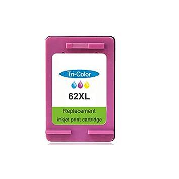 PXYUAN - Cartucho de Tinta Compatible con HP 62 C2P04AN Envy 5640 ...