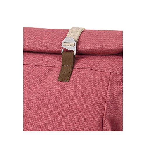 Mochila Ansvar Lona de Algodón Ecológico en Rojo Vintage - Mochila Unisex Alta Calidad en material 100% sostenible - Primera mochila con certificado GOTS y Fair Trade Rojo Vintage