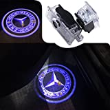 #3: For Mercedes-Benz E couple - A207 C207, CLS - C218, CLA-Class Car Door LED Laser Projector Blue Circle Logo Light, JKCOVER Car Modification Ghost Shadow Lights - 2pcs