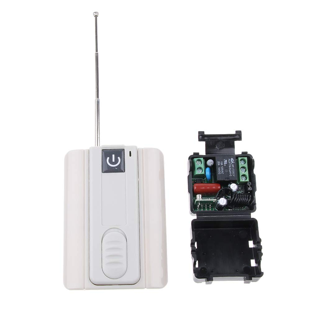 Homyl Professional Transmitter Receiver Wireless RF Remote Control Switch 315MHZ