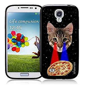 Springink Hipster Galaxy Astronaut Cat In Space Thinshell Case Protective S4 Case