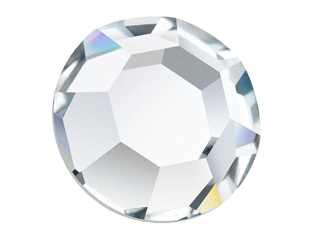 8-ft Rhinestone Flatbacks Crystal Cal ss34 ~ 288pcs 7mm Preciosa Genuine Czech Crystals