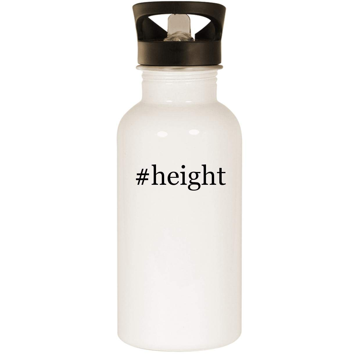 #height - Stainless Steel 20oz Road Ready Water Bottle, White