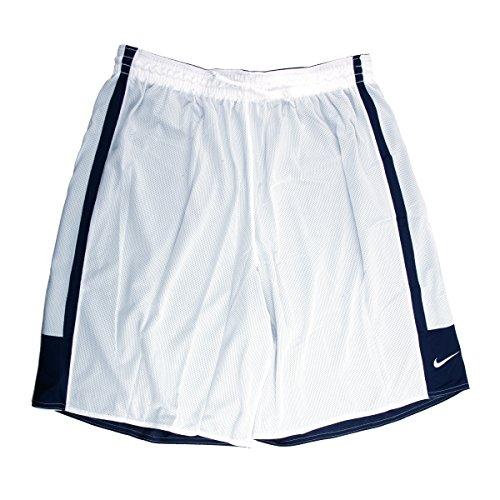 Nike Dri-FIT Men's Reversible Navy/White Basketball Shorts - 3X Large