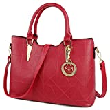 Best Leather Tote Bags - Micom Gold Metal Pendant Pu Leather Tote Bags Review