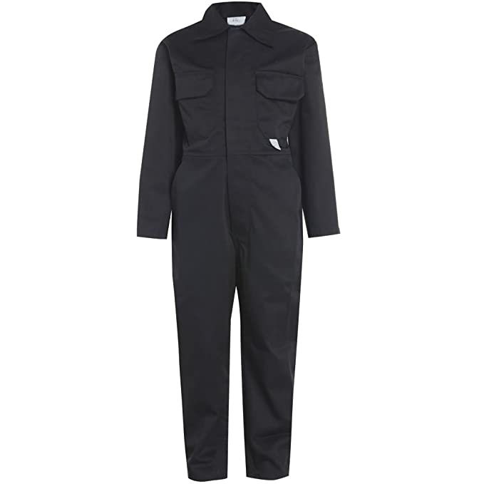 51feb66b963 Army And Workwear Heavy Duty Kids Boilersuit Coverall  Amazon.co.uk   Clothing