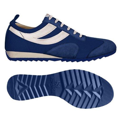 Superga - Zapatillas para mujer Blue Royal-White