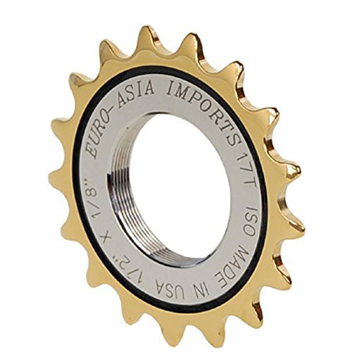 EURO-ASIA IMPORTS Gold Medal Pro Cog 17T B06WRNC6KY
