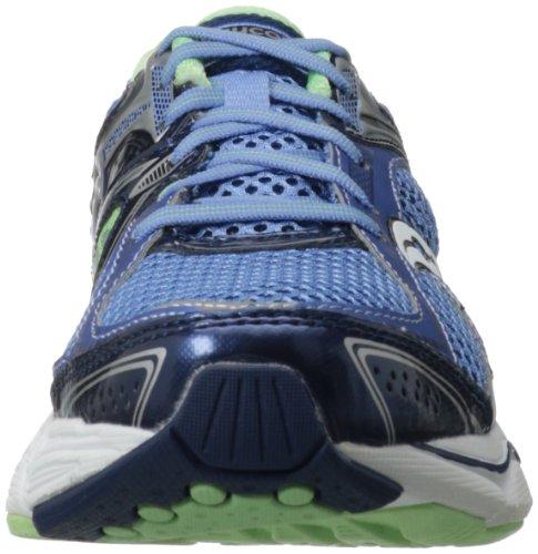 Scarpa Da Running Donna Echelon 3 Di Saucony Blu / Blu Navy / Verde