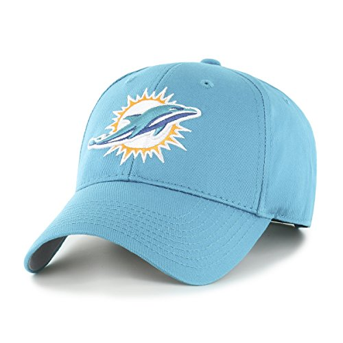 (NFL Miami Dolphins Men's OTS All-Star Adjustable Hat, Team Color, One Size)