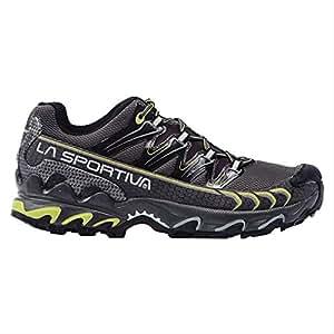 La Sportiva Men's Ultra Raptor GTX Trail Running Shoe, Grey / Green, 38 M EU