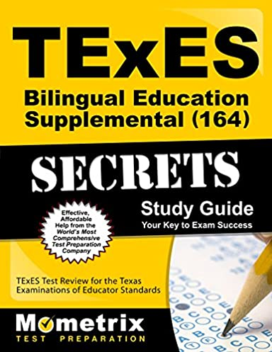texes bilingual education supplemental 164 secrets study guide rh amazon com