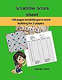 Scrabble Score Sheet: 100 pages scrabble game