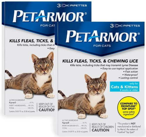Pet Armor For Cats (6 Month)