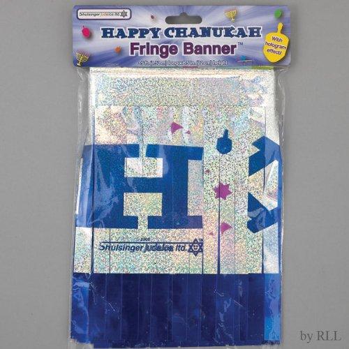 5FT Happy Hanukkah Hologram Banner