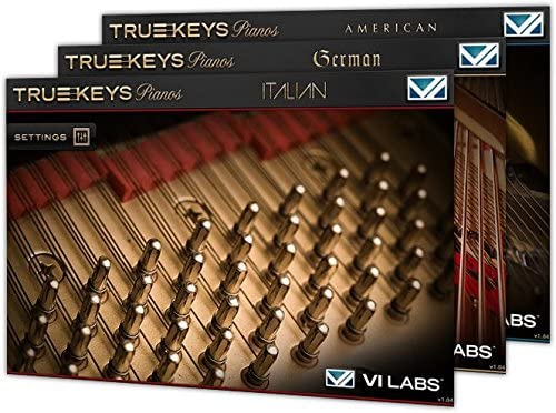 VI Labsのピアノ音源バンドル「True Keys Pianos 」セールで71%OFFの$99!