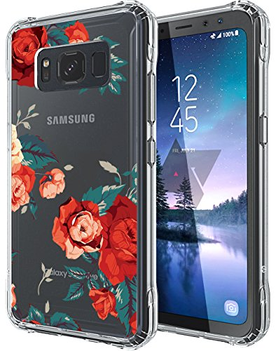 Active Wheel (Galaxy S8 Active Case, SWODERS Geel Wheel Design Shock Absorbing TPU + Hard PC Bumper Case For Samsung Galaxy S8 Active (SM-G893) - Red)