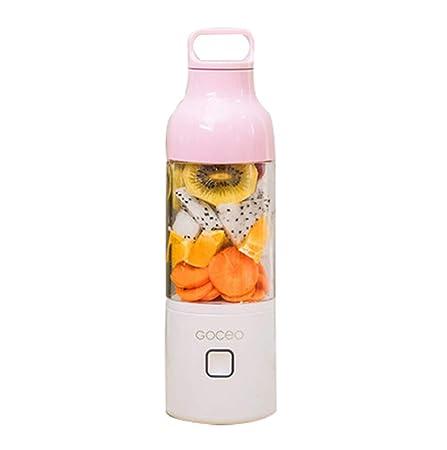 Batidora portátil personal, licuadora Smoothie USB Juice Cup ...