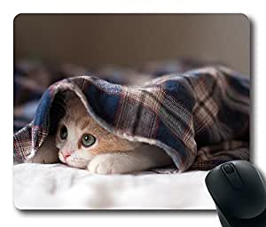 Mouse Pad Sleepy Kitten Desktop Laptop Mousepads Comfortable Office Mouse Pad Mat Cute Gaming Mouse Pad