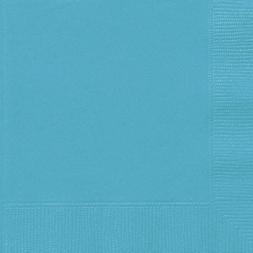 Teal Paper Napkins, 20ct (Ocean Theme Flatware)