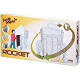 Tobar Colour Your Own Cardboard Rocket Playset