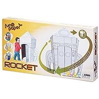 Tobar couleur votre propre fusée en carton Playset 114cm assemblé papier taille âge 5 +