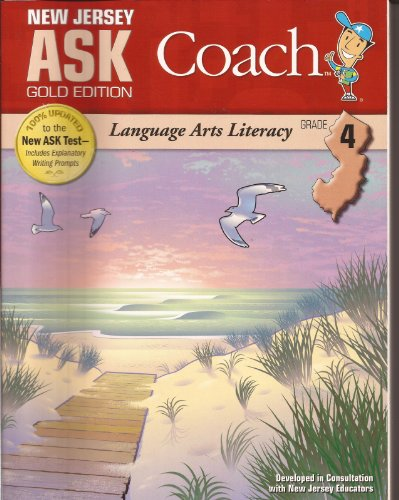New Jersey Ask Coach Gold Edition Language Arts Literacy (Grade 4) (Ask Coach)