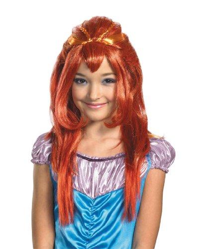 Bloom Costume Wig Child Std