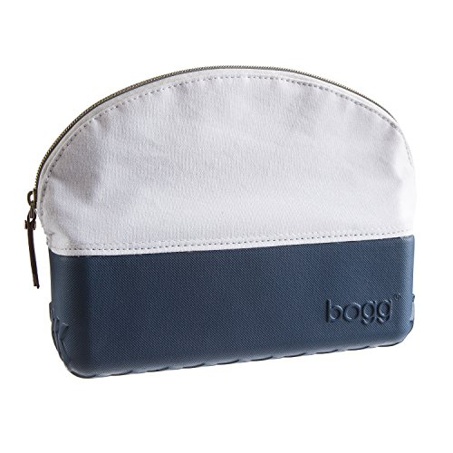 Beauty and the Bogg Makeup Cosmetic Bag 9x7x3 (Navy Blue)