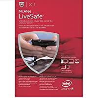 Mcafee MLS15ZMB1RAA 2015 Livesafe (Software)