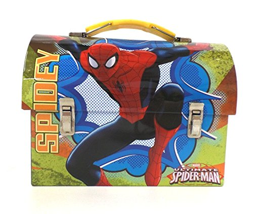 (Marvel Ultimate Spider-Man Spidey - Workmans Carry all (Tin Lunch Box))