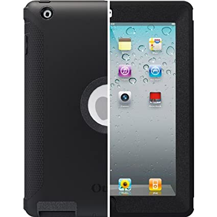 OtterBox Defender Series Case for iPad 2/3/4 Black Retail Packaging (77-18640)(not compatible with any version of ipad mini/ipad air)