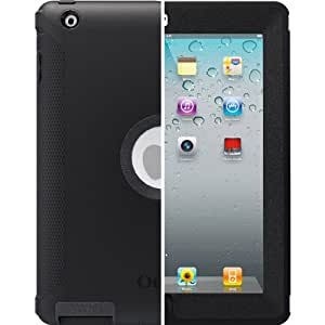 OtterBox Defender Series Case for iPad 2/3/4, Black, Retail Packaging (77-18640)(not compatible with any version of ipad mini/ipad air)